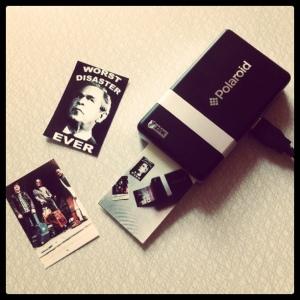 Polaroid Pogo - Portable sticker factory!