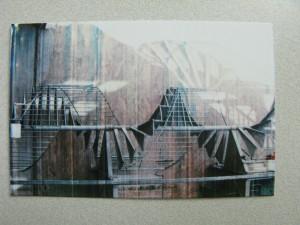 Polaroid Pogo print with stripe problems
