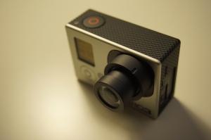 Sunex DSL355 4.16 mm on Hero 3 Black